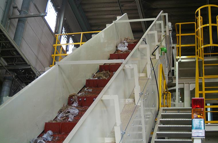 混合廃棄物処理